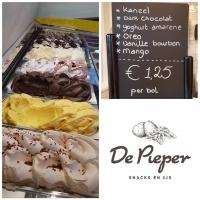 Snackbar De Pieper viert Dag van Ambachtelijk IJs