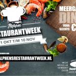 We doen mee aan de Alphens Restaurantweek!